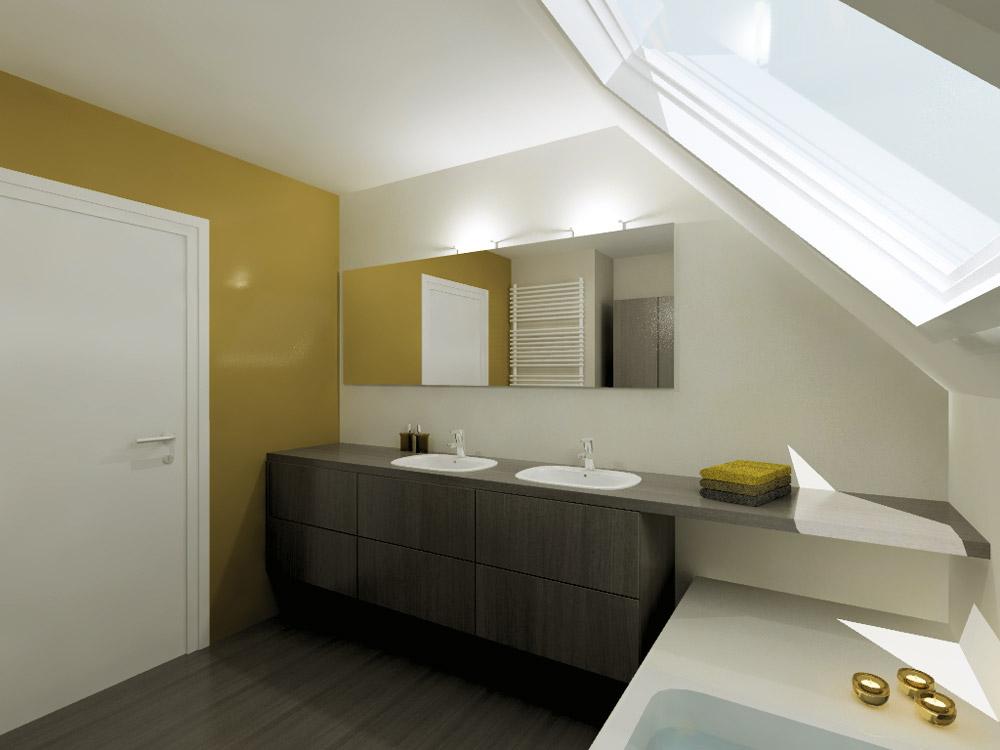 Je moderne badkamer bezoek aquizien in hamme - Mooie moderne badkamer ...