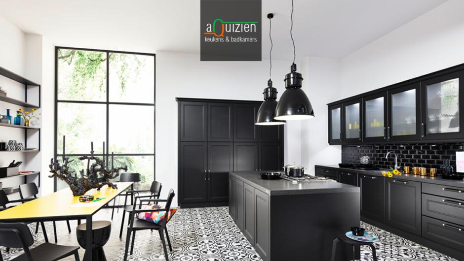 Moderne Zwarte Keuken : Een zwarte keuken de nieuwste trend bij aquizien hamme