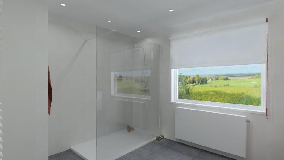 Moderne badkamer op maat door aQuizien uit Hamme