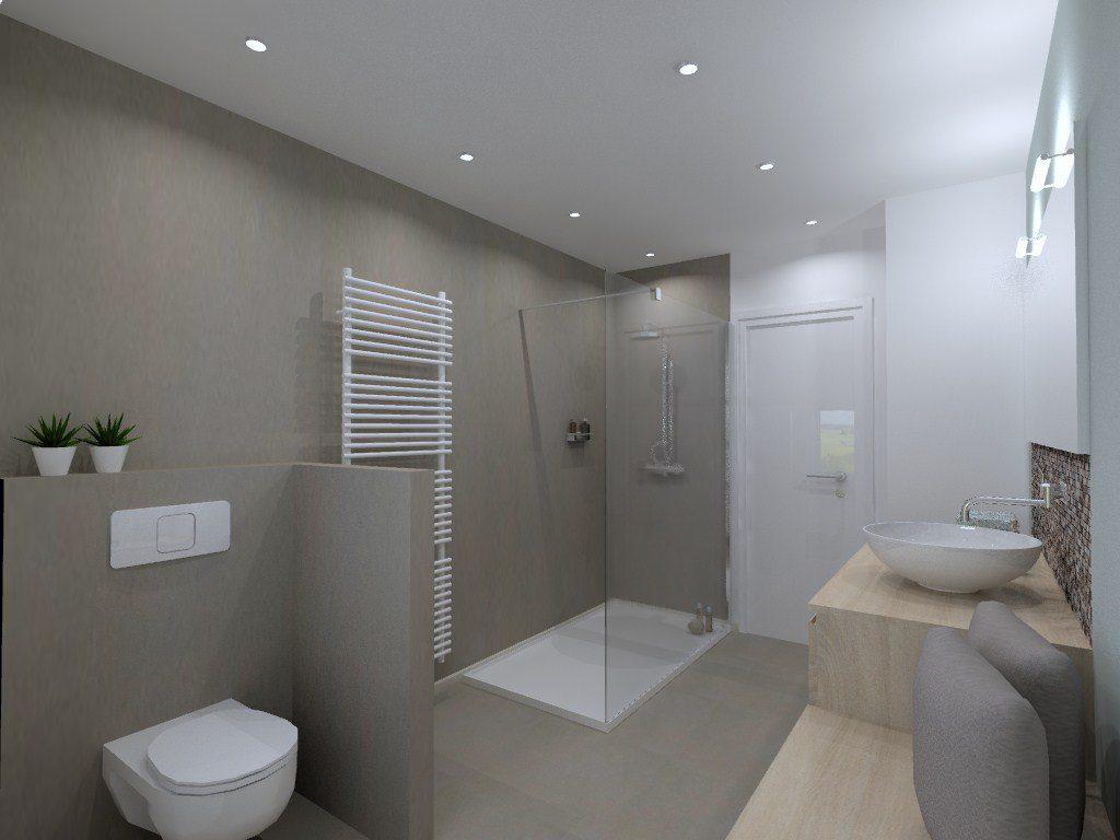 Een Gezellige Badkamer : Een nieuwe badkamer realisatie door aquizien uit hamme