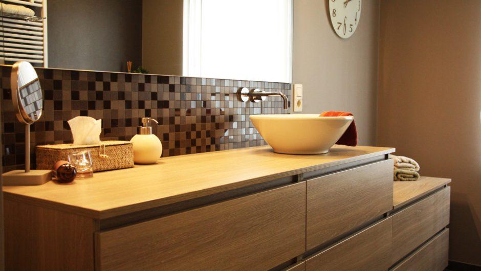 een nieuwe badkamer realisatie door aquizien uit hamme