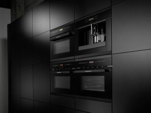 Zwarte ovengreep