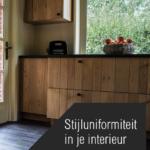 Keuken en living in één