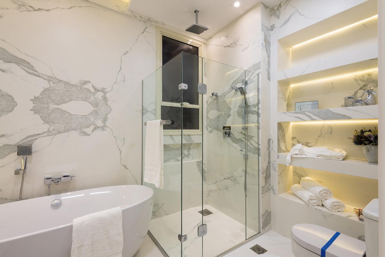 Keramiek in de badkamer